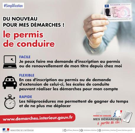 Les avantages   Le Permis de conduire   Les téléprocédures à portée ... 78960a855e60